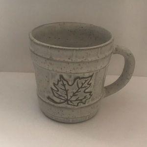 Unique Beautiful Speckled Maple Leaf Coffee Mug